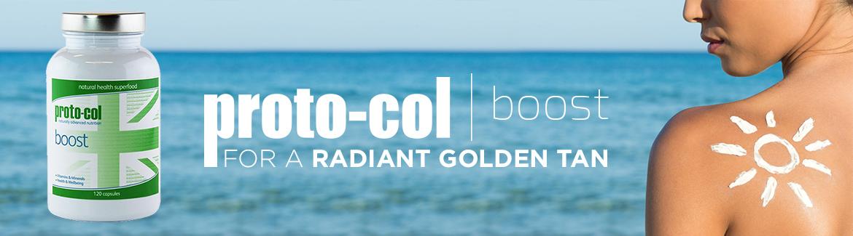 Proto-col | Boost Capsules | For A Golden Tan | SkinCareTotal UK