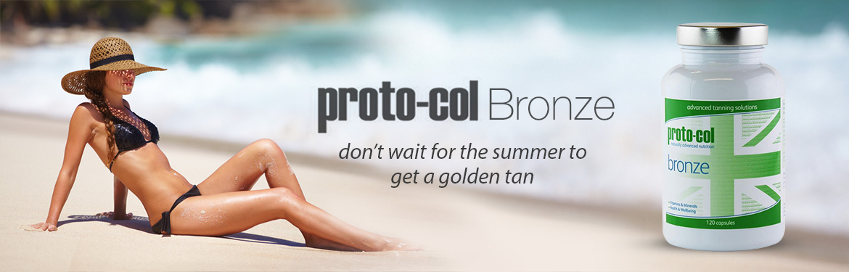 Proto-col Bronze | Natural Tanning Supplement | SkinCareTotal UK