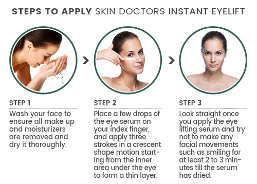 Application for Eyelift Steps