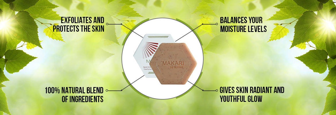 Uses of Makari Clarifying Antiseptic Soap