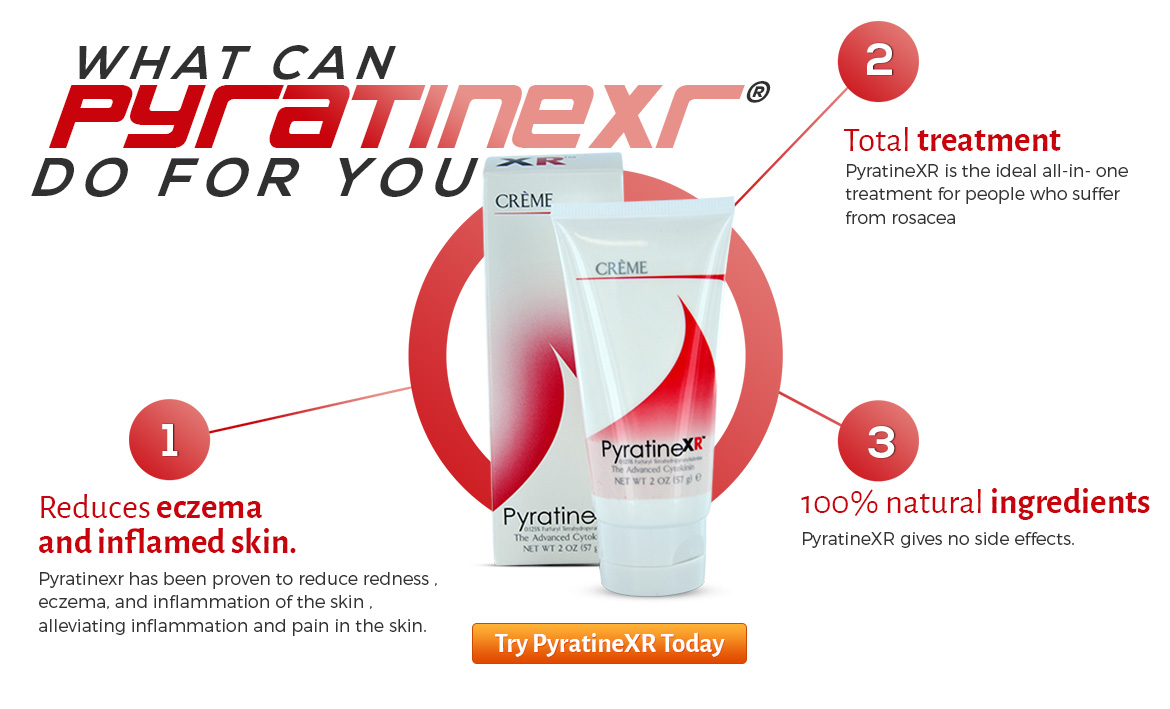 Uses of PyratineXR Crème