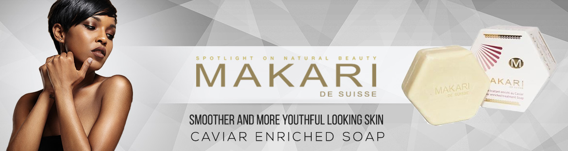 Uses of Makari Caviar Enriched Soap