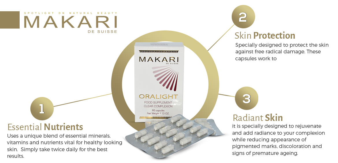 Work of Makari Oralight Complexion Capsules