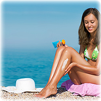 Sunscreen lotion for sun protection